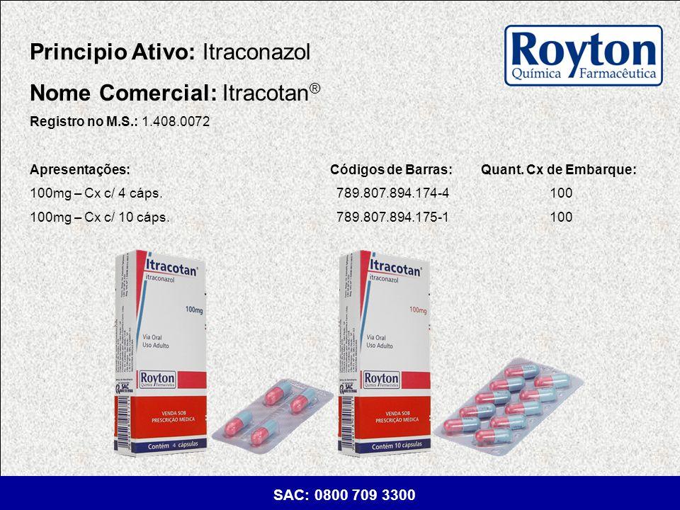 Principio Ativo: Itraconazol Nome Comercial: Itracotan®