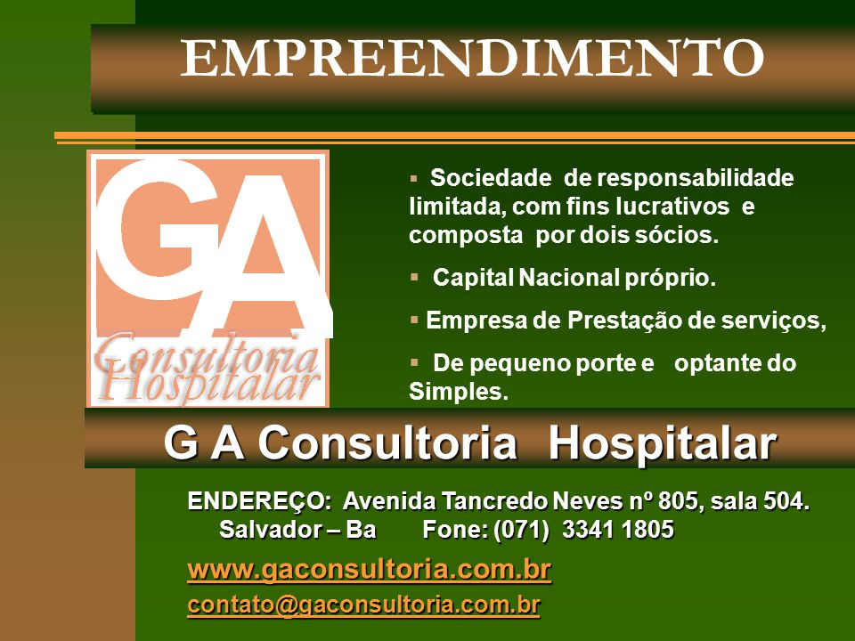 G A Consultoria Hospitalar