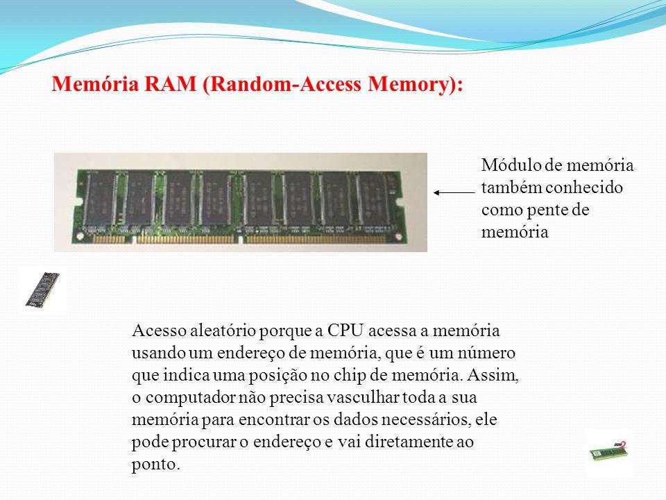 Memória RAM (Random-Access Memory):