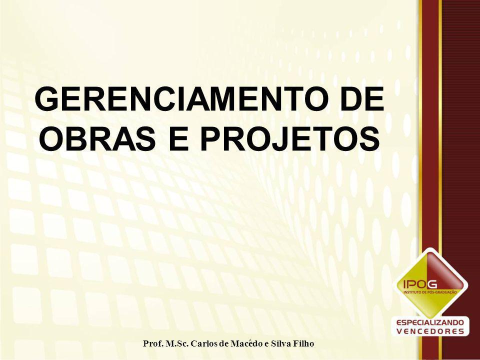 GERENCIAMENTO DE OBRAS E PROJETOS
