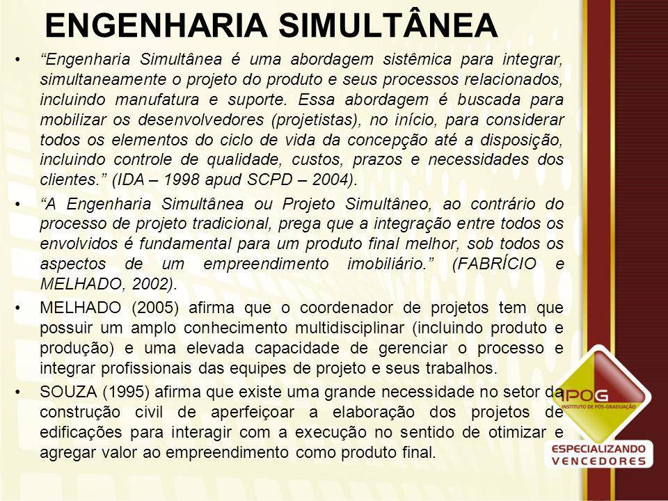 ENGENHARIA SIMULTÂNEA
