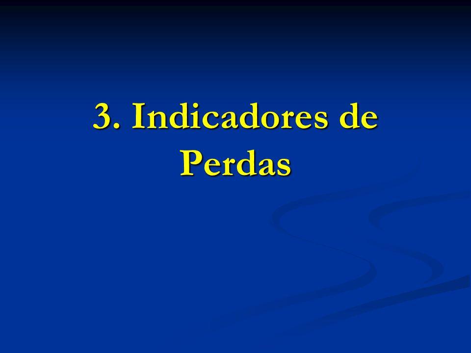 3. Indicadores de Perdas