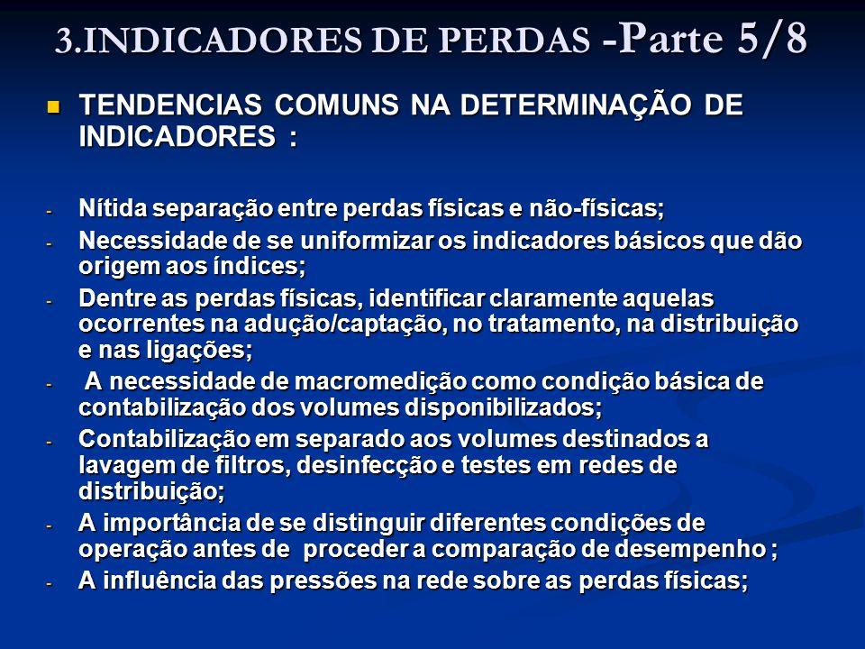 3.INDICADORES DE PERDAS -Parte 5/8