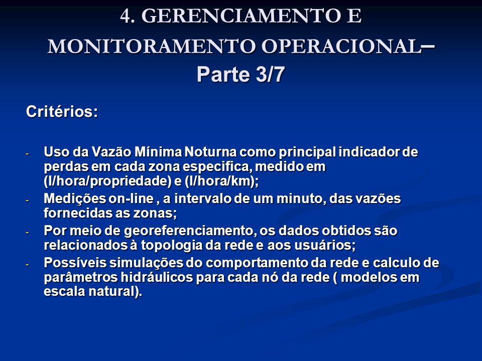 4. GERENCIAMENTO E MONITORAMENTO OPERACIONAL– Parte 3/7