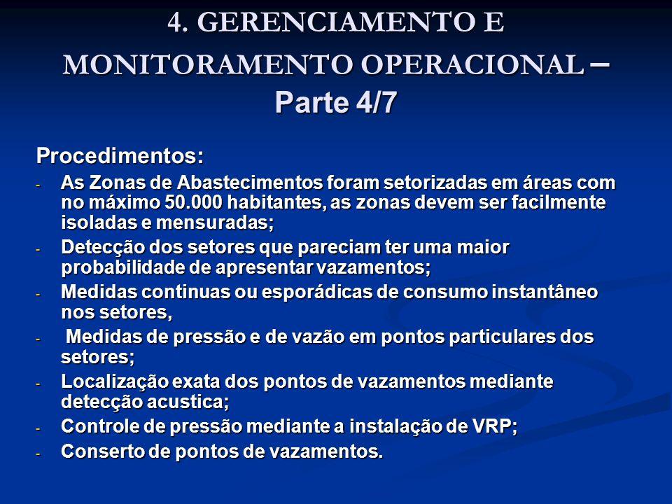 4. GERENCIAMENTO E MONITORAMENTO OPERACIONAL – Parte 4/7