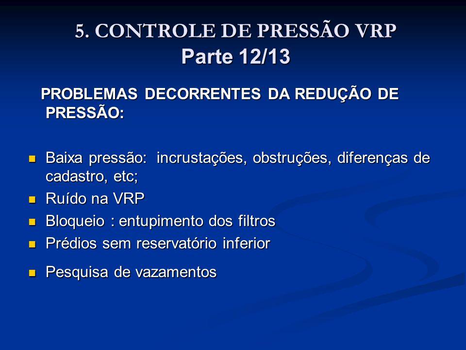 5. CONTROLE DE PRESSÃO VRP Parte 12/13