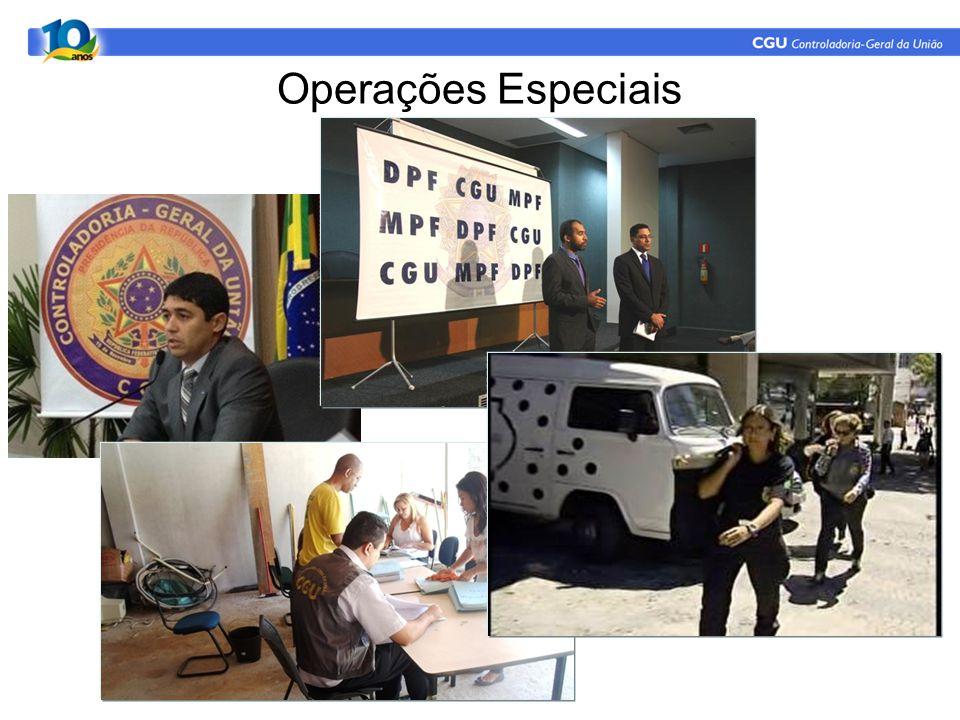 Operações Especiais