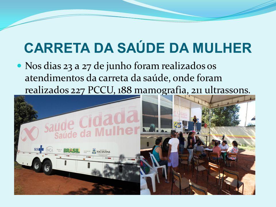 CARRETA DA SAÚDE DA MULHER