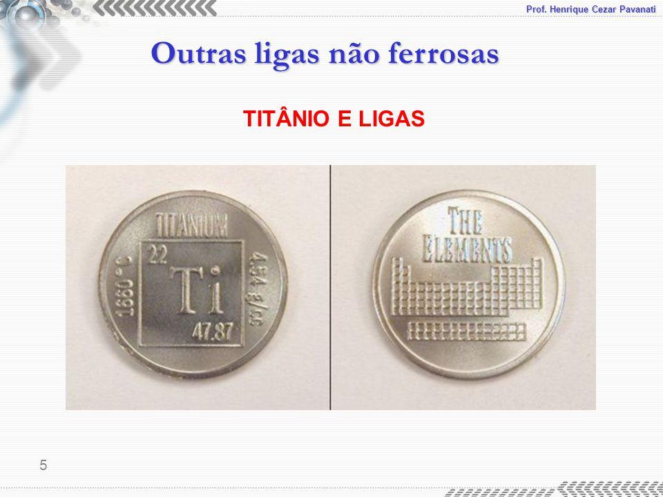 TITÂNIO E LIGAS