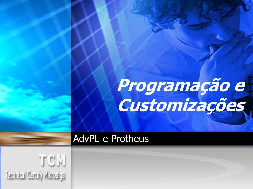 Programação e Customizações