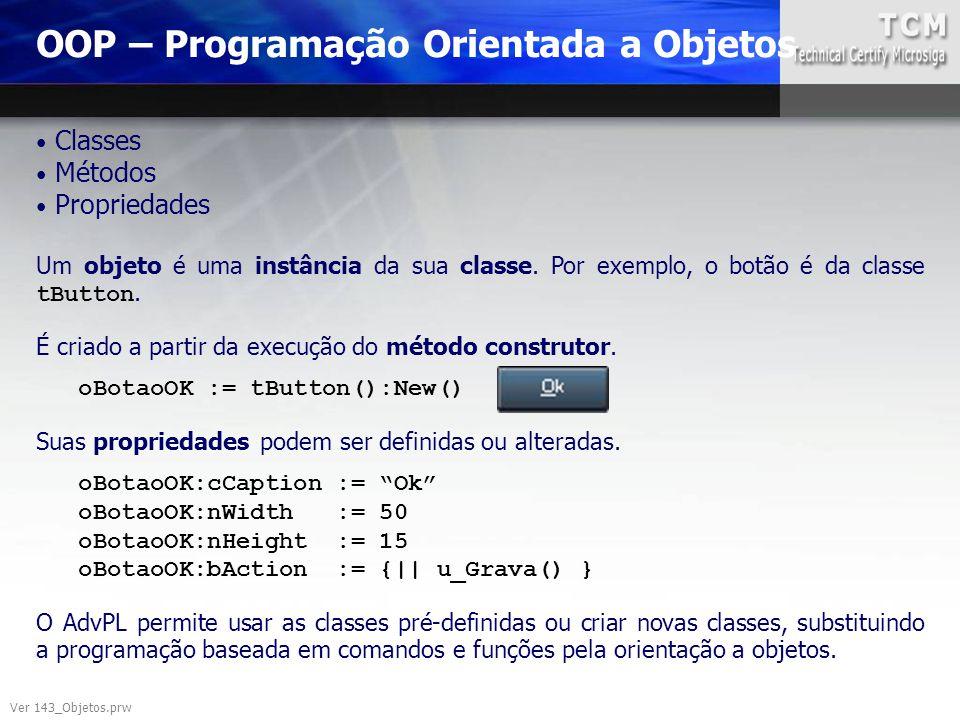 OOP – Programação Orientada a Objetos