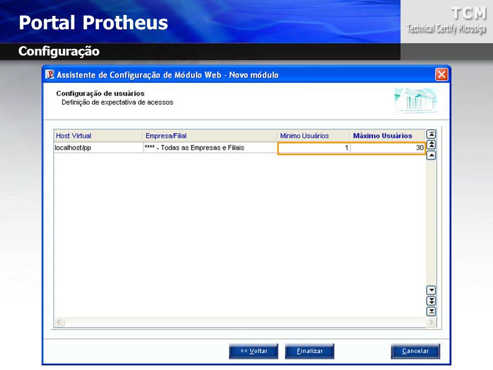 Portal Protheus Configuração