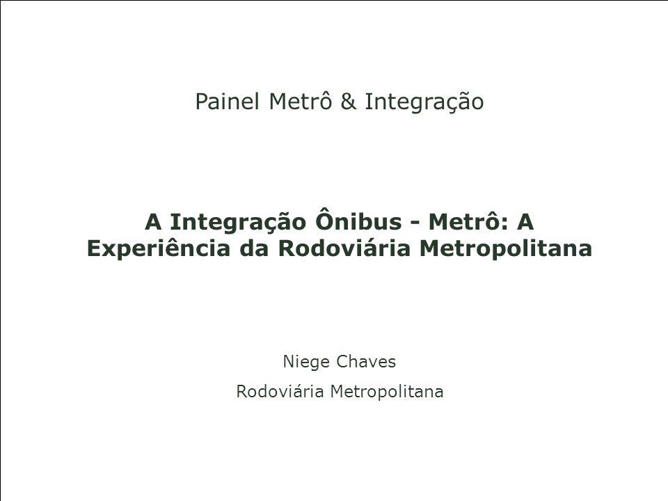 Painel Metrô & Integração