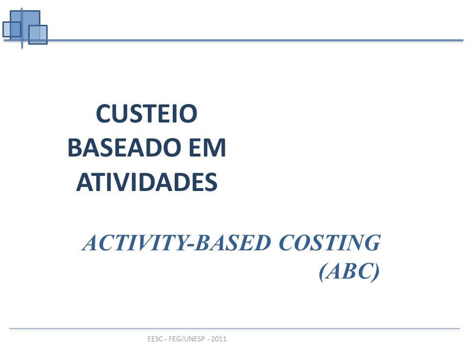 CUSTEIO BASEADO EM ATIVIDADES