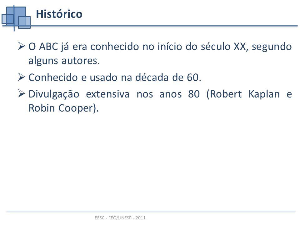 Histórico O ABC já era conhecido no início do século XX, segundo alguns autores. Conhecido e usado na década de 60.