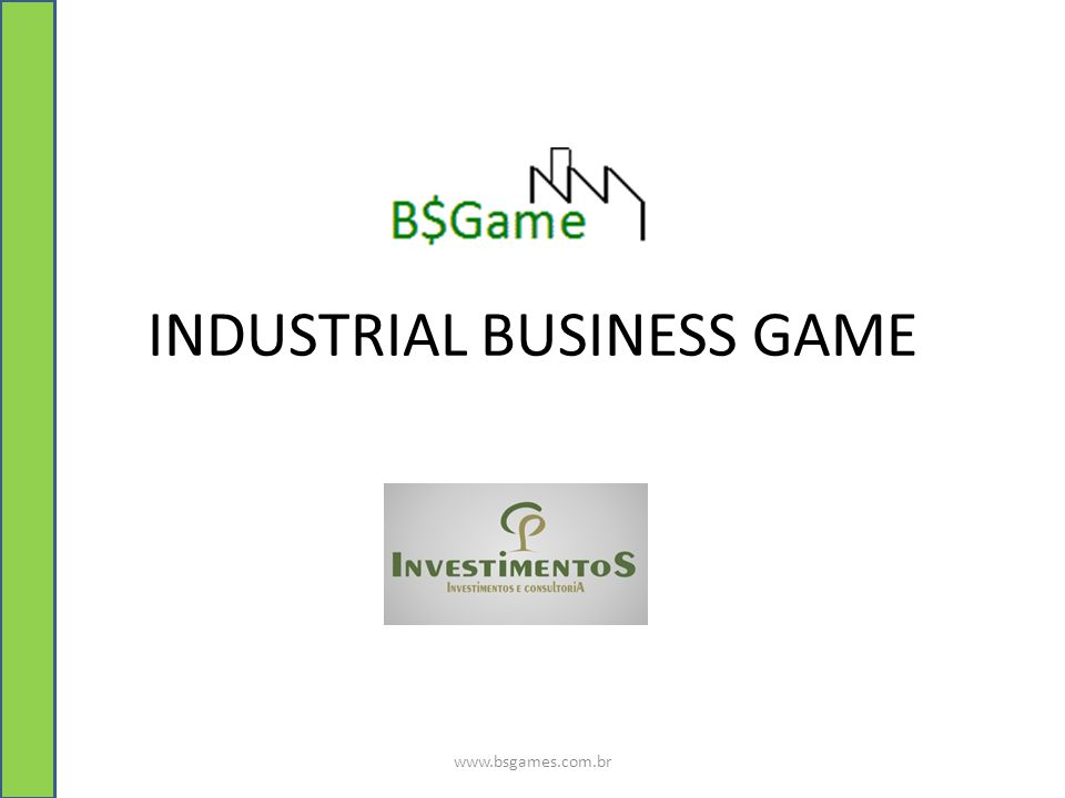 INDUSTRIAL BUSINESS GAME