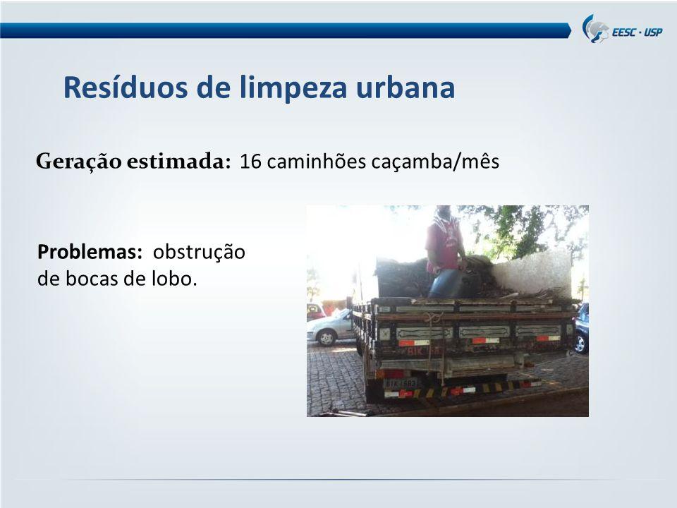 Resíduos de limpeza urbana