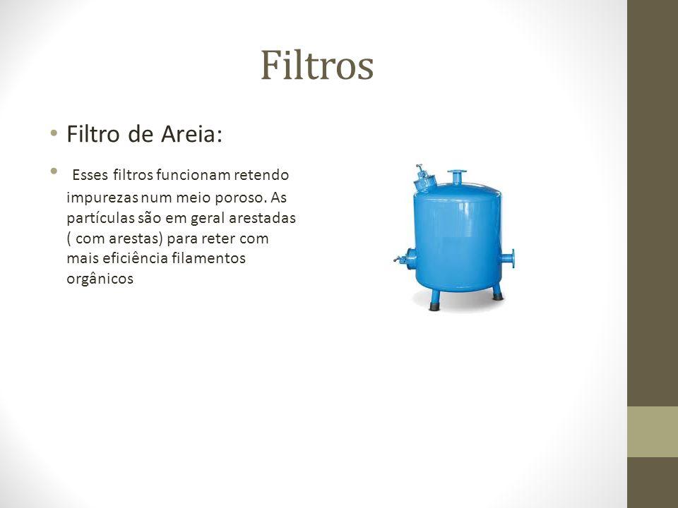 Filtros Filtro de Areia: