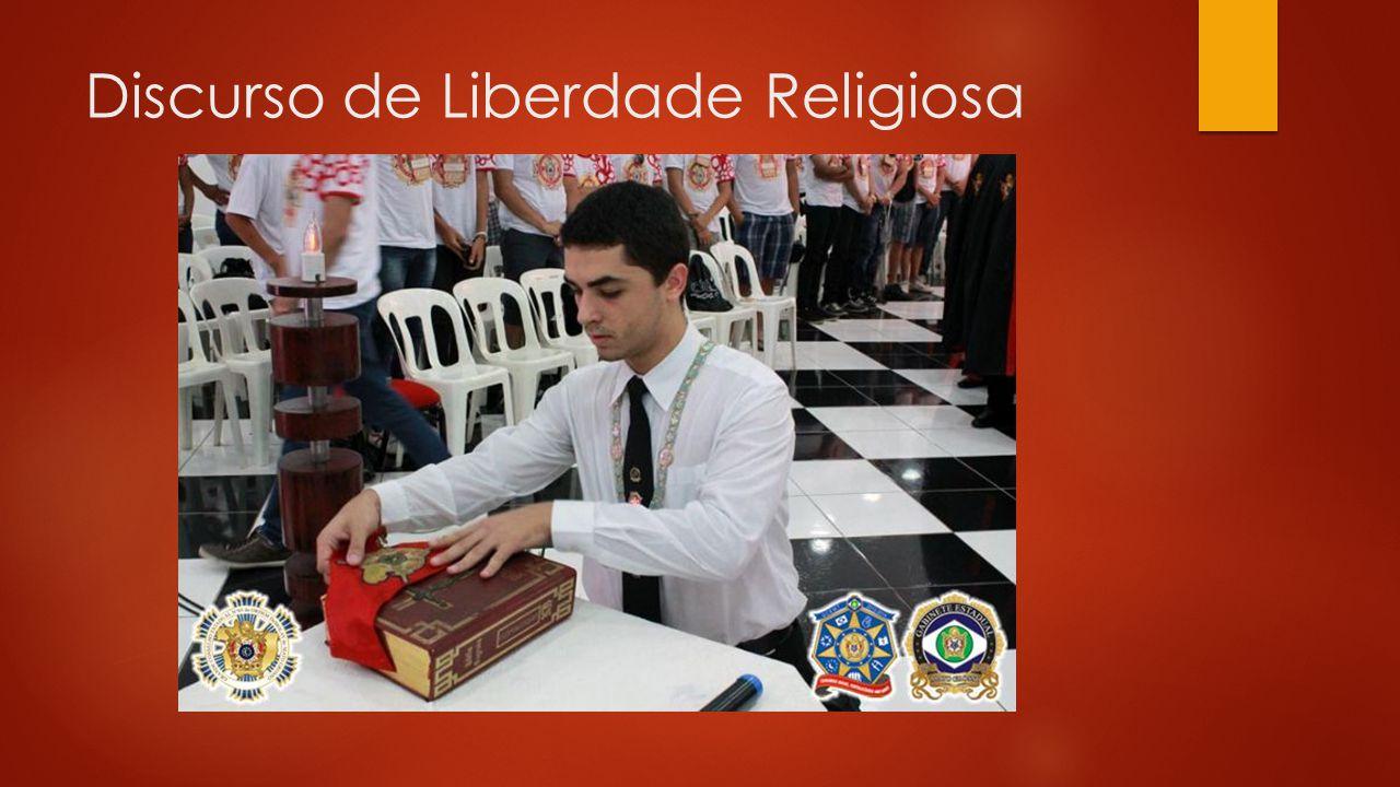 Discurso de Liberdade Religiosa