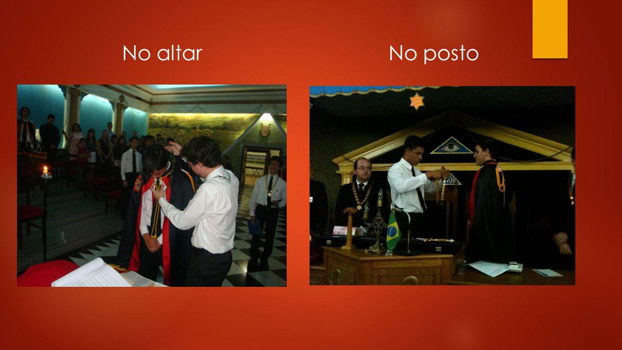 No altar No posto