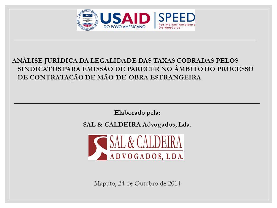 SAL & CALDEIRA Advogados, Lda.