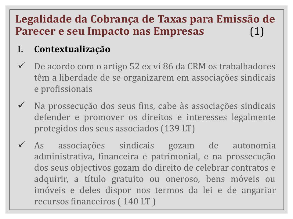 Legalidade da Cobrança de Taxas para Emissão de Parecer e seu Impacto nas Empresas (1)