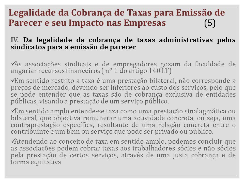 Legalidade da Cobrança de Taxas para Emissão de Parecer e seu Impacto nas Empresas (5)