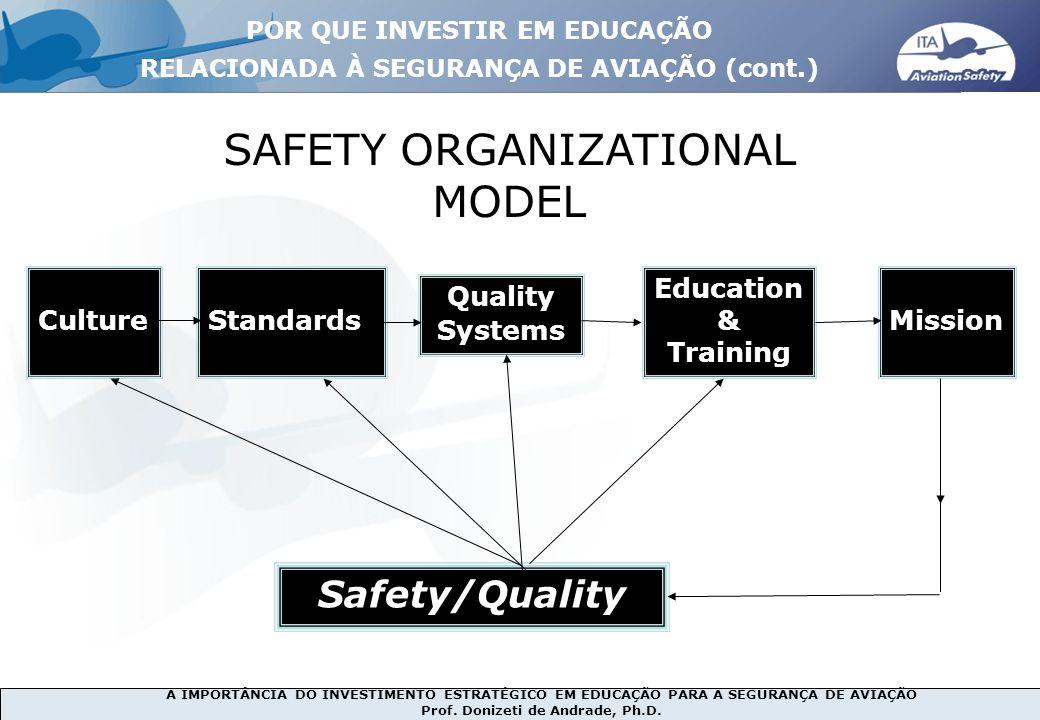 SAFETY ORGANIZATIONAL MODEL