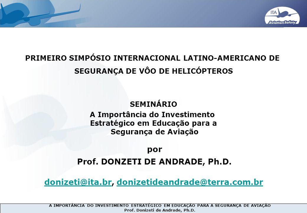 1990s 2007… por Prof. DONZETI DE ANDRADE, Ph.D.