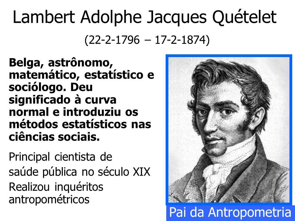 Lambert Adolphe Jacques Quételet (22-2-1796 – 17-2-1874)