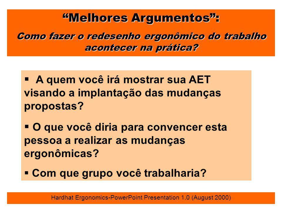 Melhores Argumentos :