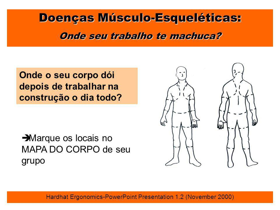 Doenças Músculo-Esqueléticas: Onde seu trabalho te machuca