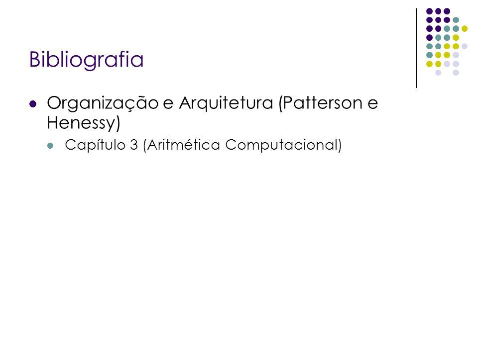 Bibliografia Organização e Arquitetura (Patterson e Henessy)
