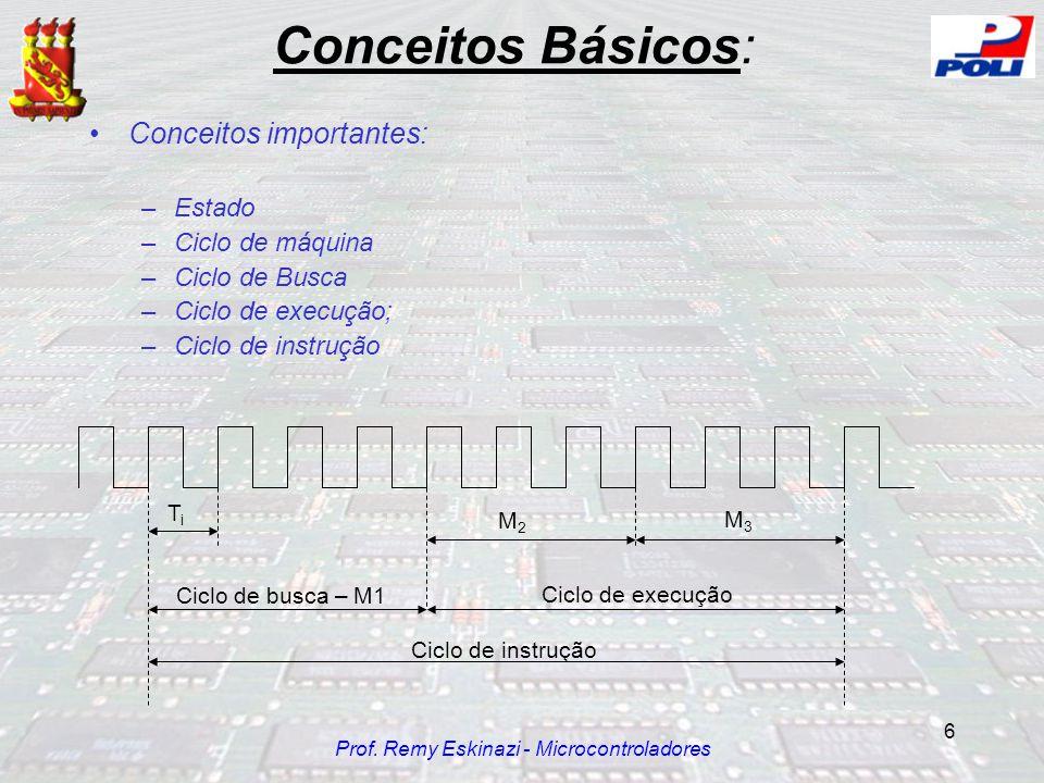 Prof. Remy Eskinazi - Microcontroladores