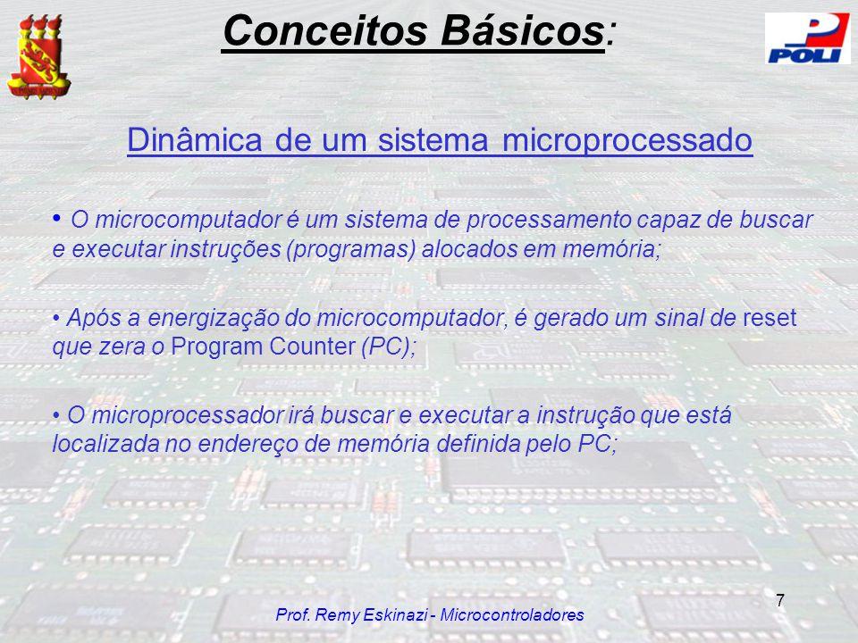 Conceitos Básicos: Dinâmica de um sistema microprocessado