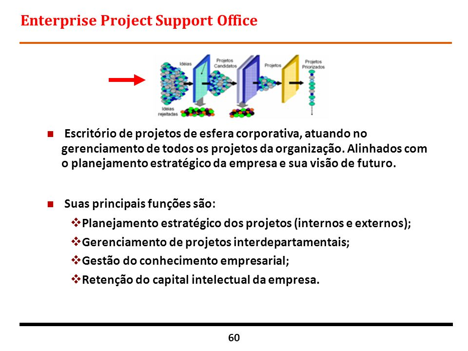 Enterprise Project Support Office