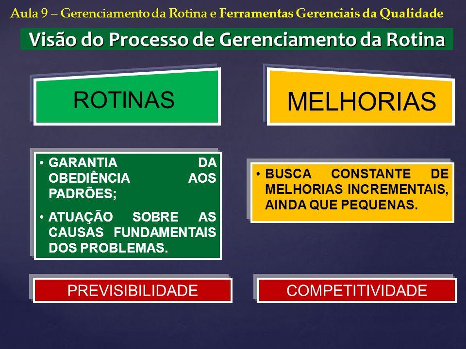 Visão do Processo de Gerenciamento da Rotina
