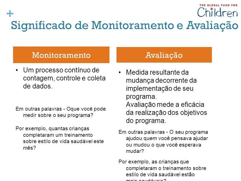 Significado de Monitoramento e Avaliação