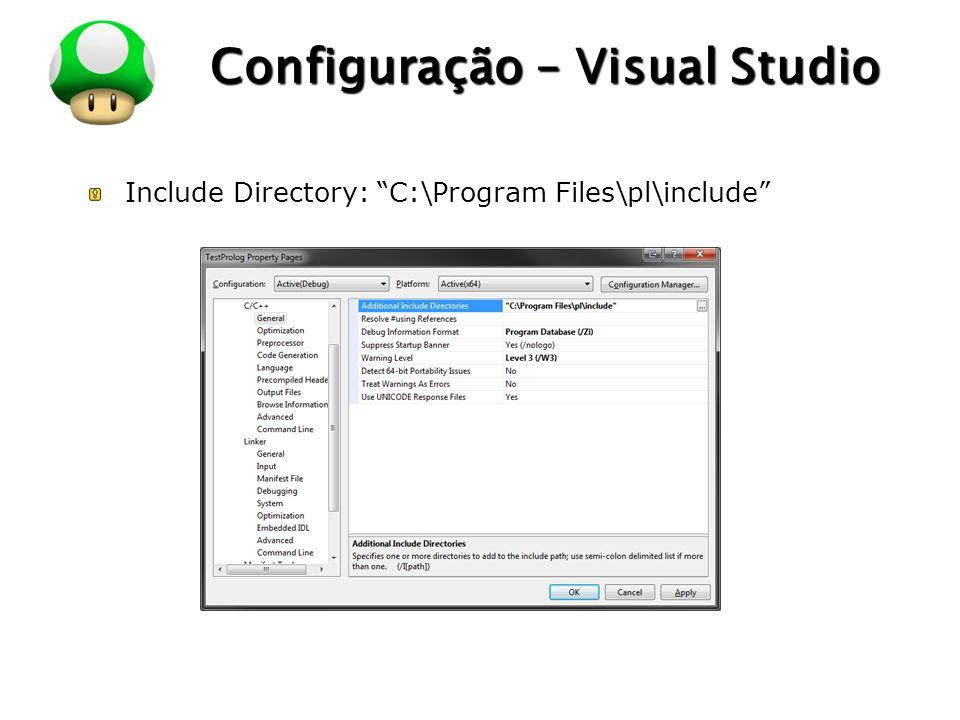 Configuração – Visual Studio