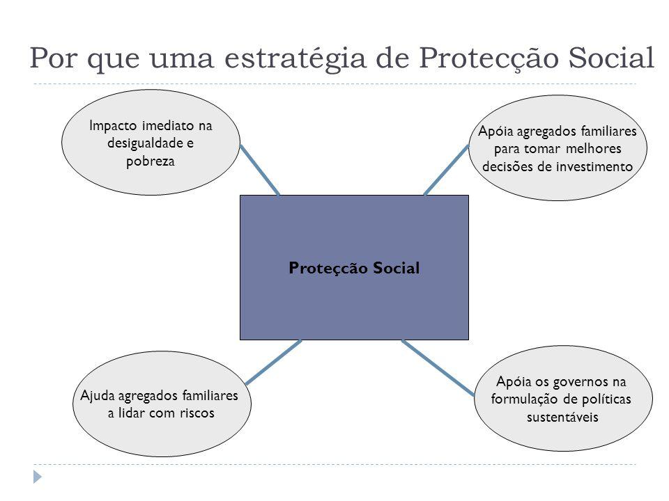 Por que uma estratégia de Protecção Social