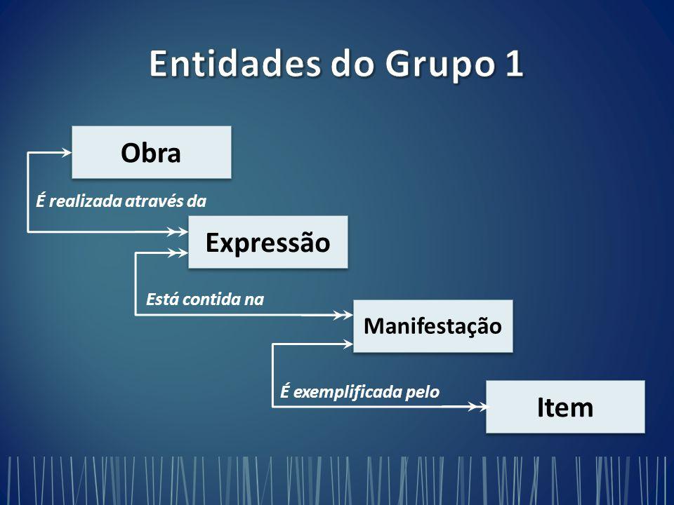 Entidades do Grupo 1 Obra Expressão Item Manifestação