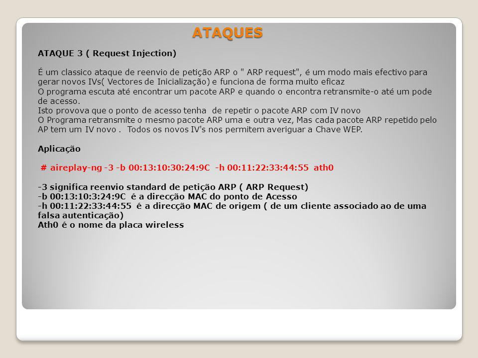 ATAQUES ATAQUE 3 ( Request Injection)