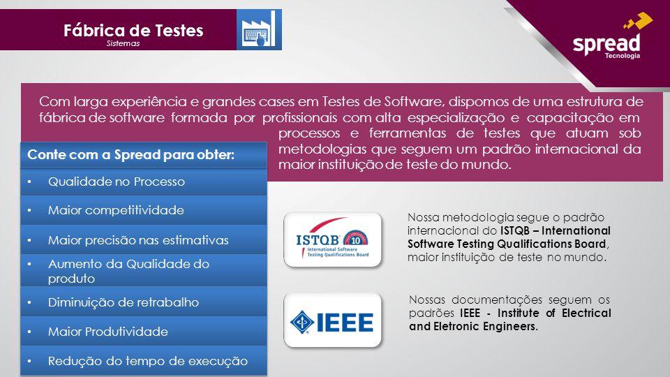 Fábrica de Testes Sistemas.