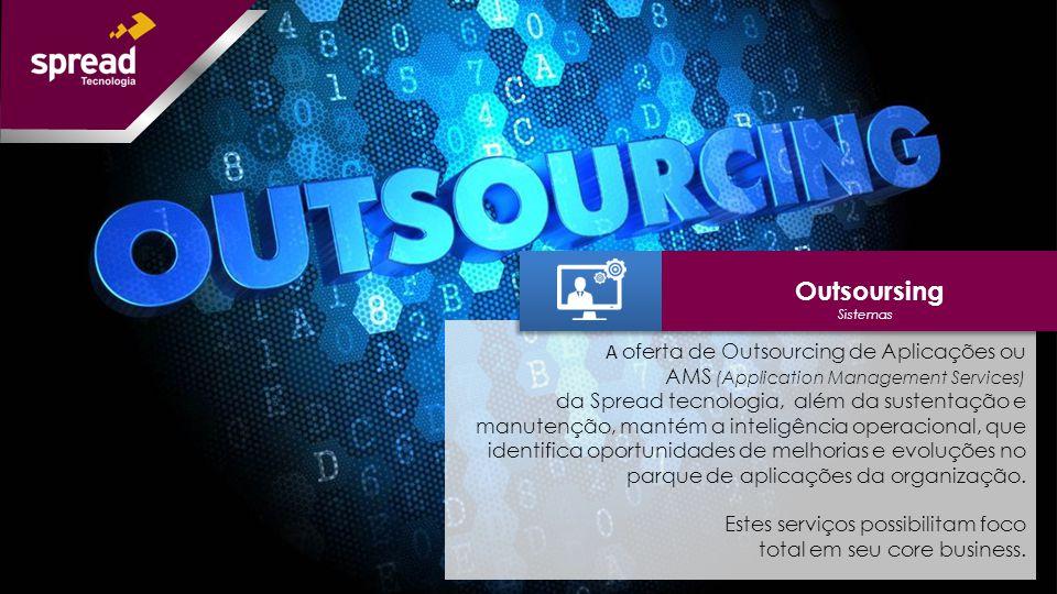 Outsoursing A oferta de Outsourcing de Aplicações ou