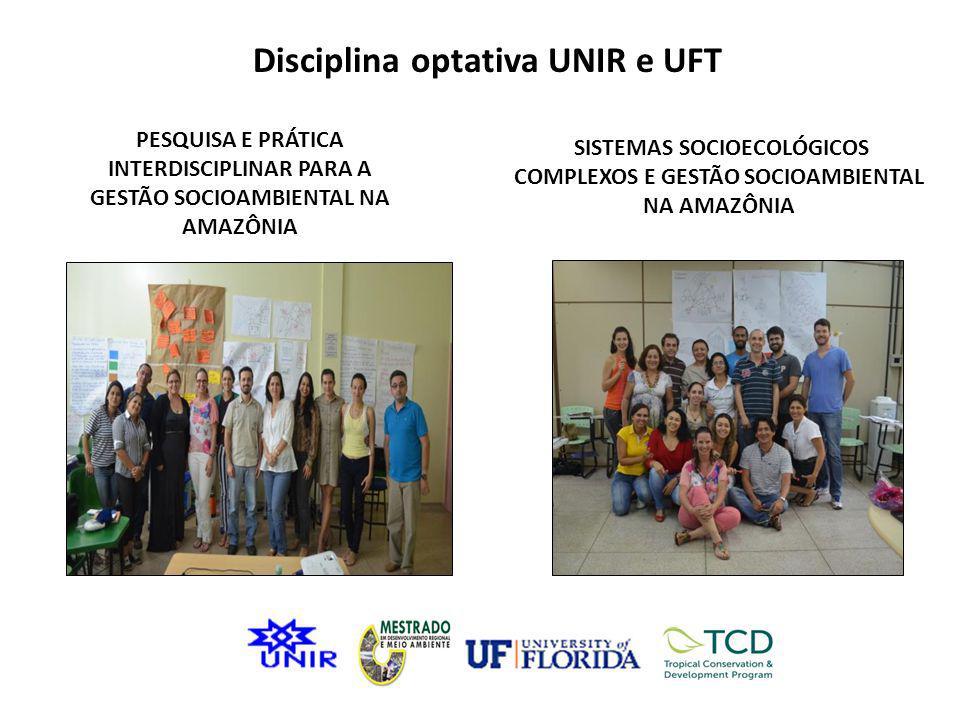 Disciplina optativa UNIR e UFT