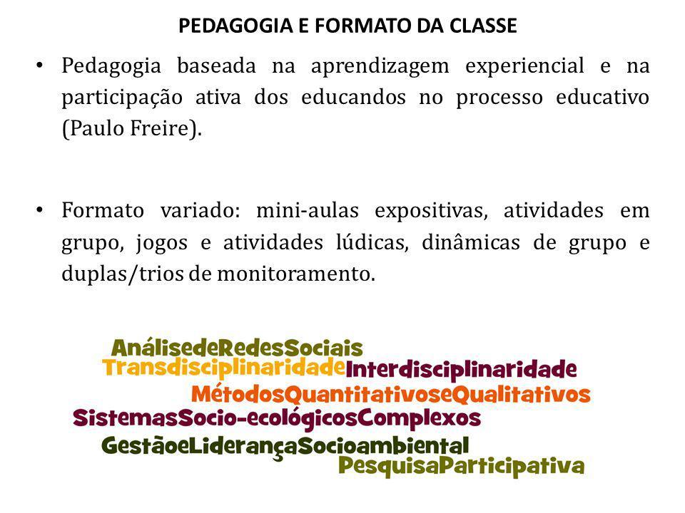 PEDAGOGIA E FORMATO DA CLASSE