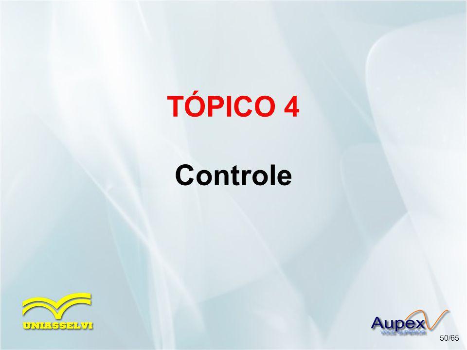 TÓPICO 4 Controle 50/65