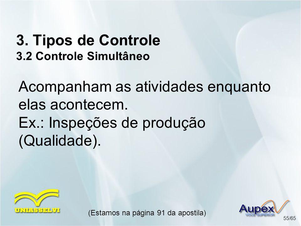 3. Tipos de Controle 3.2 Controle Simultâneo
