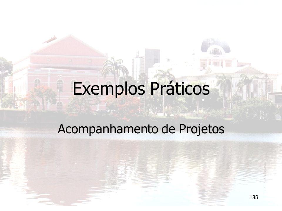 Acompanhamento de Projetos