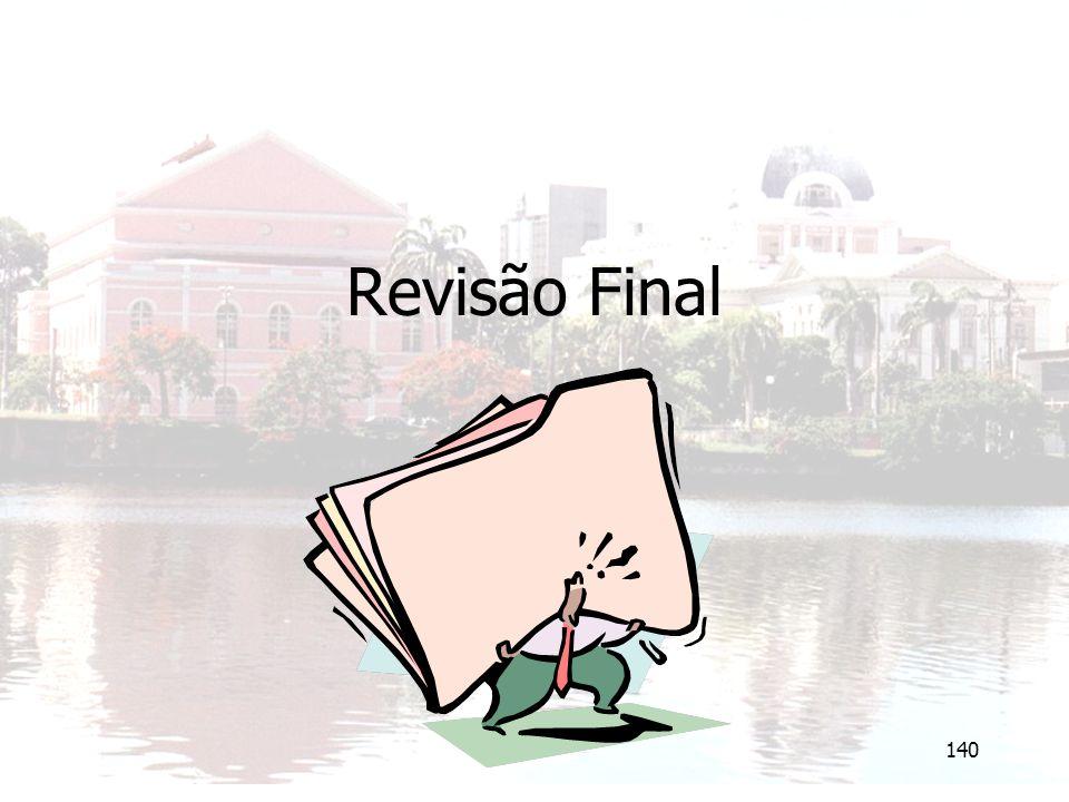 Revisão Final